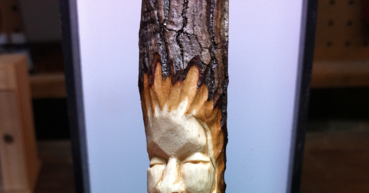 Mike pounders wood carving spirit tutorial