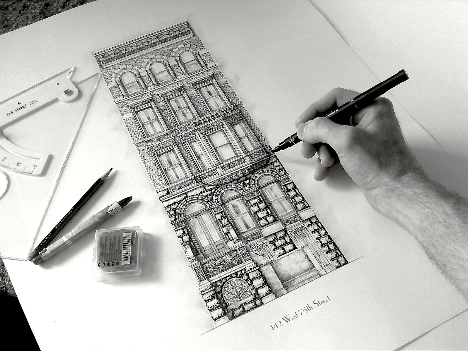 09-Rusticated-Arches-New-York-City-Jamie-Cameron-Intricate-Architectural-Drawings-and-Illustrations-www-designstack-co