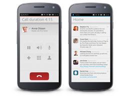 Llamar con Ubuntu phone, inteface Ubuntu phone
