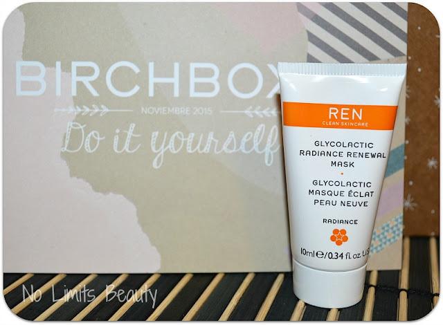 BirchBox Noviembre 2015 - Ren Glycolactic Radiance Renewal Mask