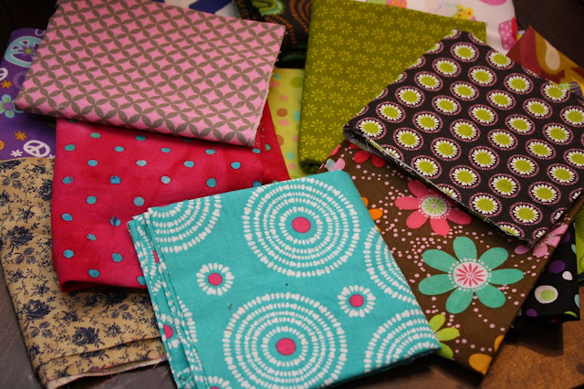 fat Quarters fabric headbands