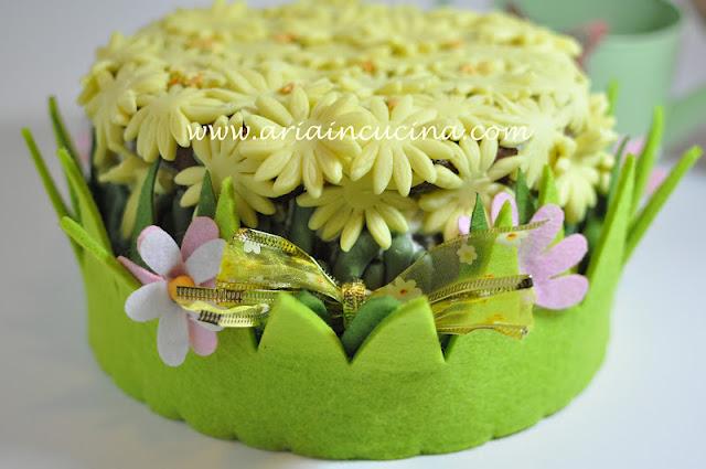 Blog di cucina di Aria: Torta Giardino di Margherite