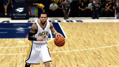NBA 2K13 D.J. Augustin Cyberface Indiana Pacers Finals