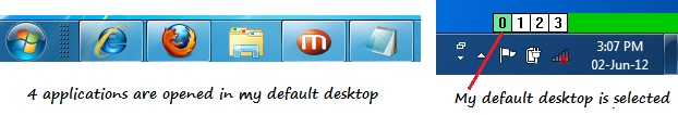 My deafult desktop
