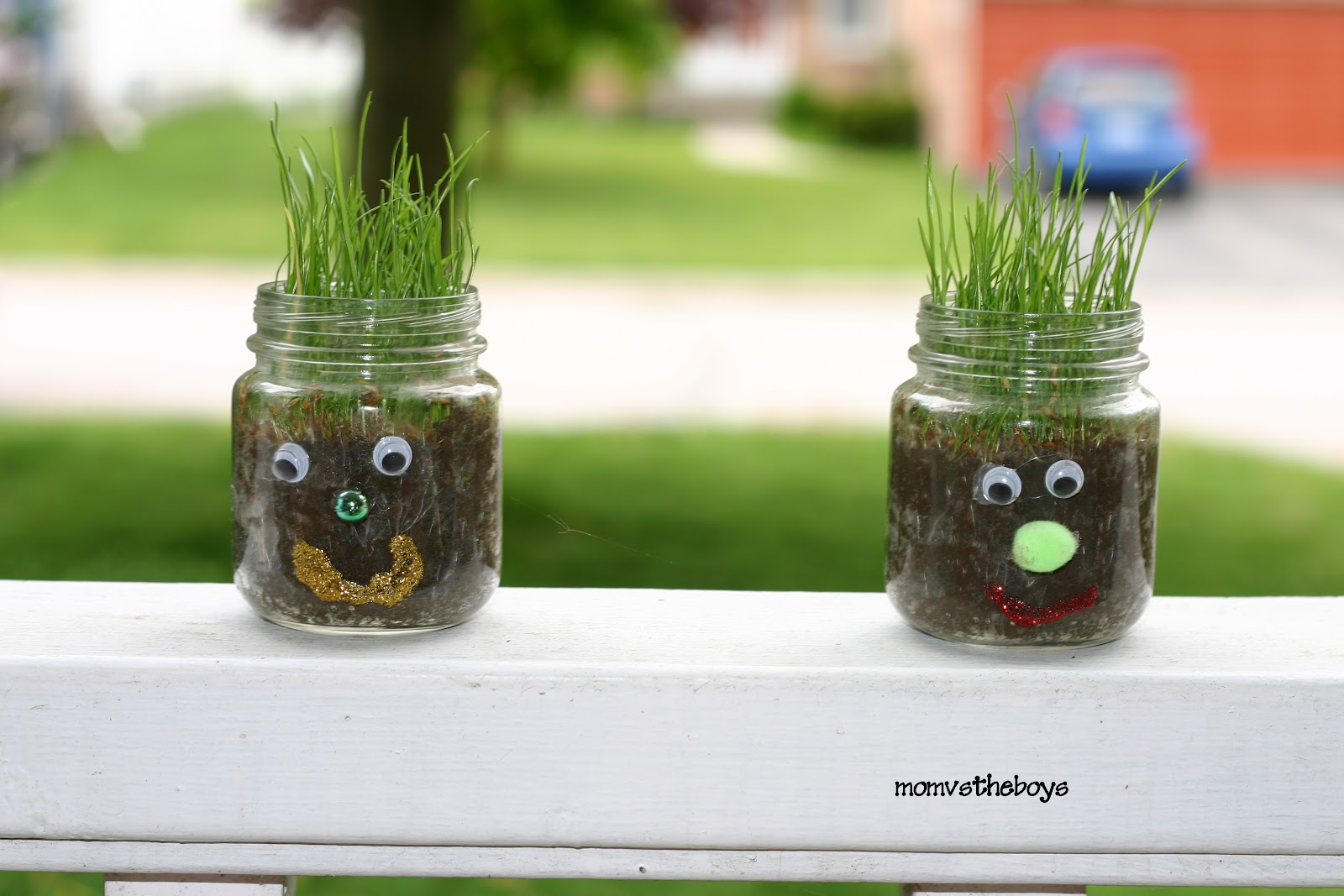 Spring Gardening Craft for kids. Meet Hairy  A Spring Gardening Craft for Kids