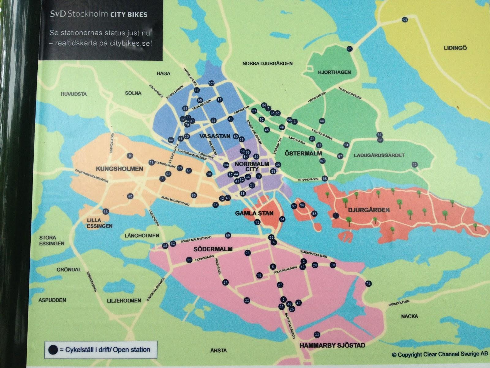 Stockholm Street Map Online