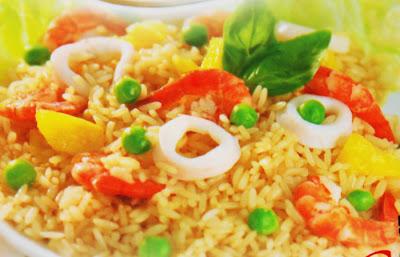 Membuat Nasi Goreng Seafood