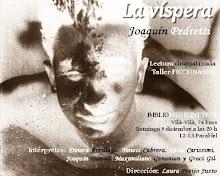'La vispera' de Joaquín Pedretti