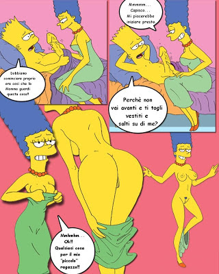 симпсоны комиксы ххх