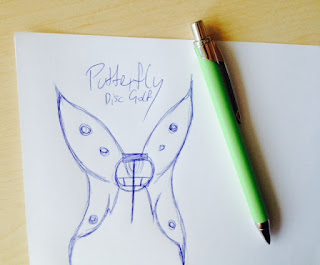 Putterfly Logo Rohentwurf