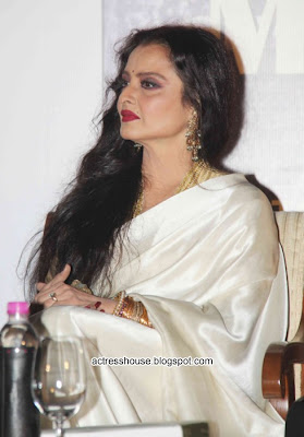 Bollywood actress Rekha stills