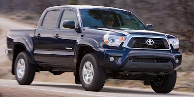 2013 Toyota Tacoma blue