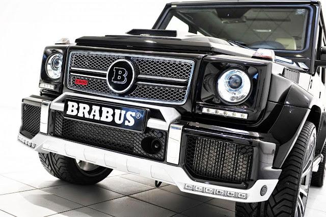 2013 brabus gelandewagen widestar g800