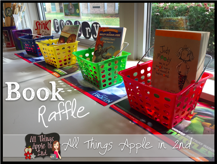 Classroom Raffle Ideas ~ All things apple in nd book raffle time