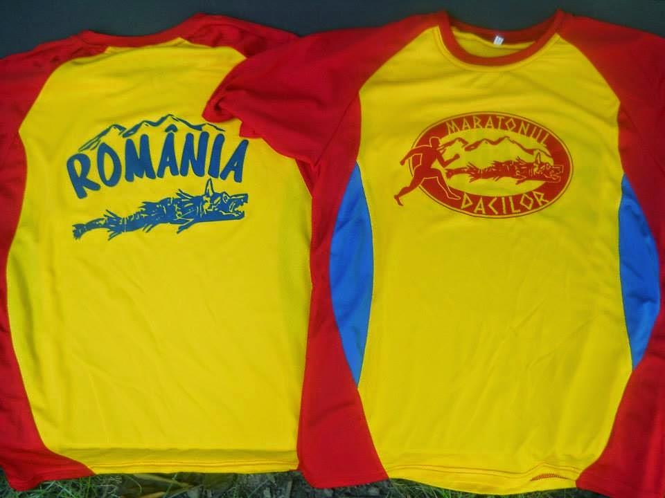 Medaliile şi tricourile de la Maratonul Dacilor 2014. Tricouri