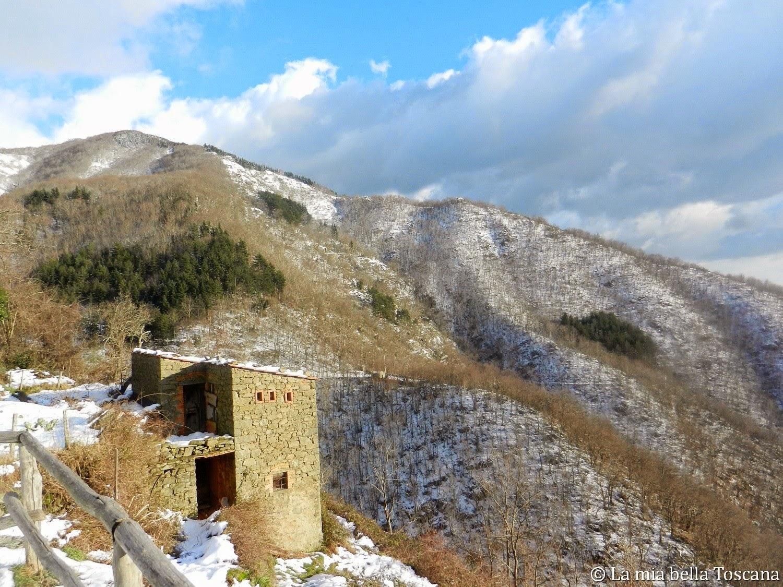 Pratomagno in Inverno