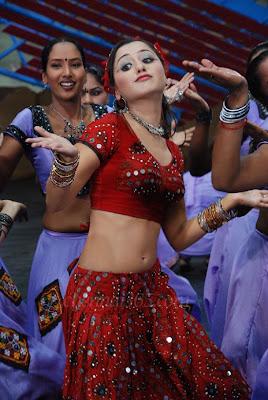 Actress Mallika Kapoor Hot Blouse Stills