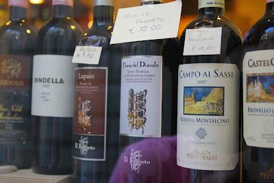Montepulciano és Montalcino borban erősek