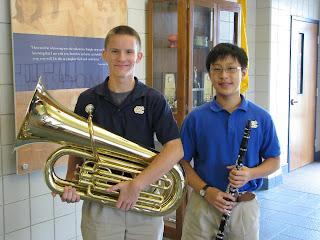Montgomery Catholic Band Members Named to Montgomery Youth Orchestra 1