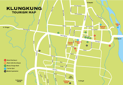 Klungkung Map