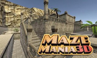 Screenshots of the Maze mania 3D: Labyrinth escape for Android tablet, phone.
