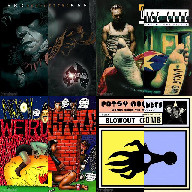 Ice Cube, Method Man, Snoop Dogg tem seus álbuns em versão MARVEL