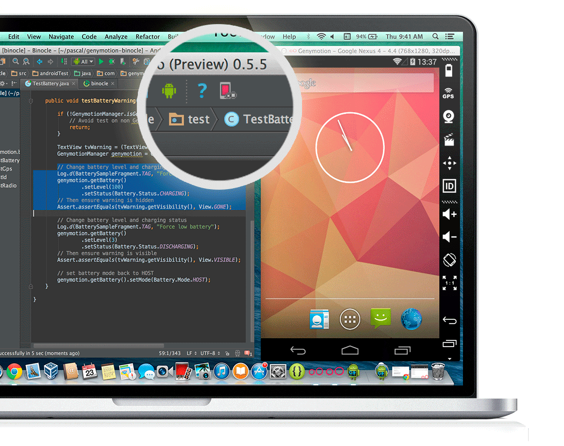 Genymotion emulador Android PC