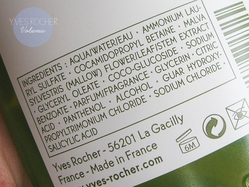 yves rocher volume szampon dodający objętości