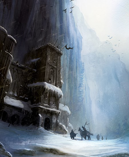 The_Wall_Marc_Simonetti_Game_of_Thrones_Winter_is_Coming_Ltd - Juego de Tronos en los siete reinos