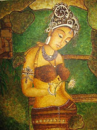Free images azanta paintings for Ajanta mural painting