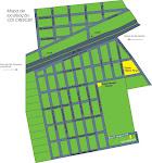 MAPA DE LOCALIZAÇÃO DO CDI COMUNIDADE CRESCER