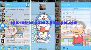 BBM Mod animasi Doraemon Base 2.8 apk