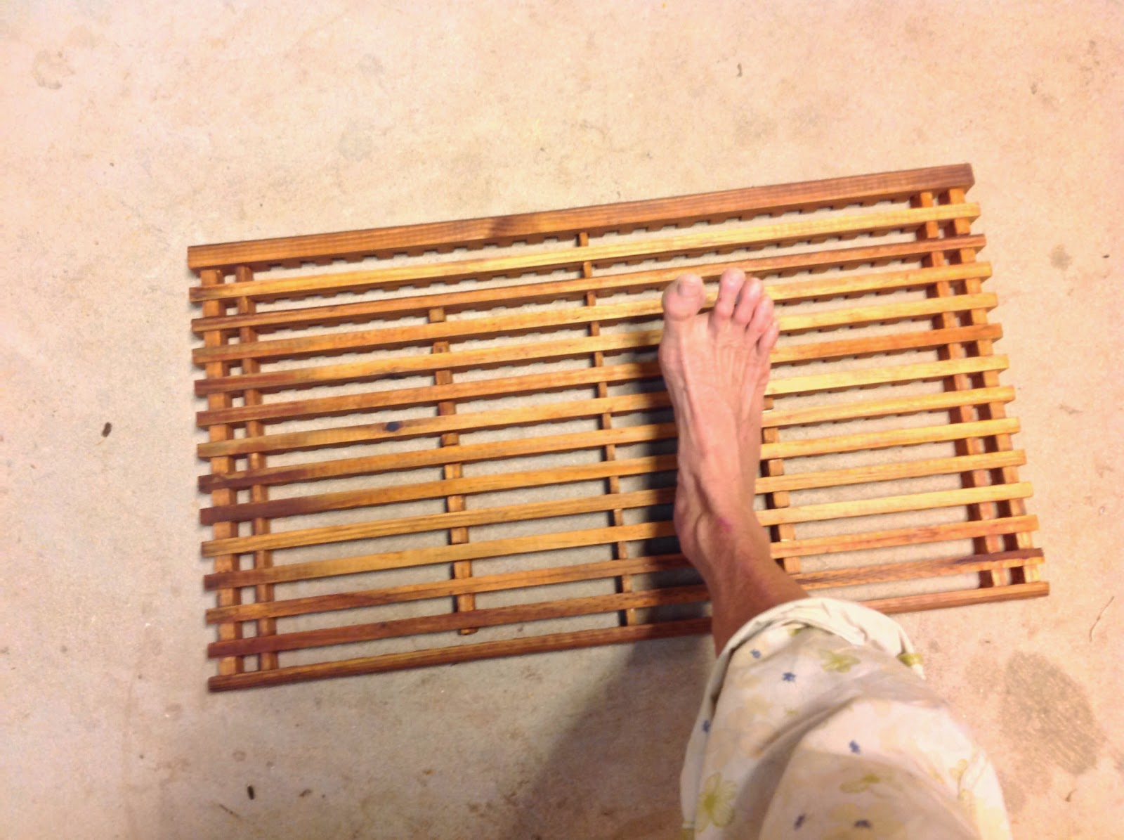 Diy Wooden Door Mat A Grating Problem Solved Build And