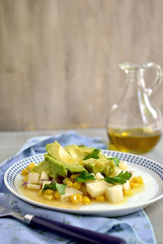 Avocado-Jicama Salad