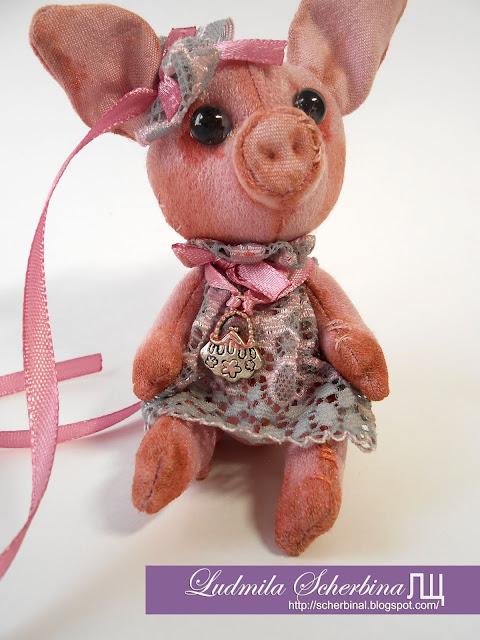 мягкие игрушки свинка
