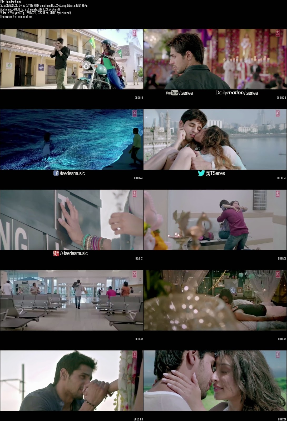 Mediafire Resumable Download Link For Video Song Hamdard - Ek Villain (2014)