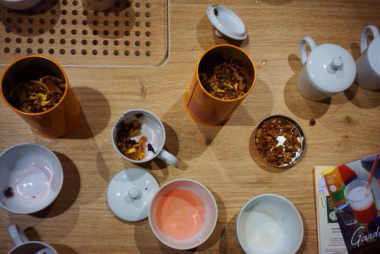 tea happiness tasting experience winter garden teas from palais