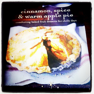 Cinnamon, Spice and warm apple pie baking book