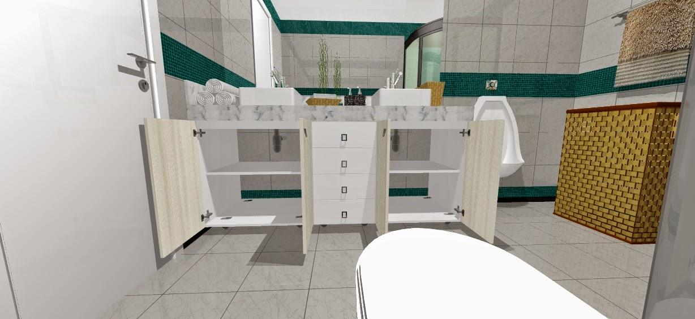 armario para banheiro de casal