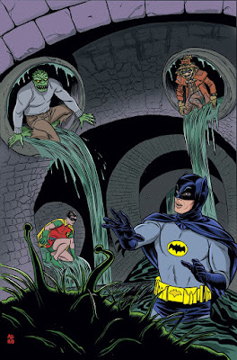 Cover of Batman '66 #28, courtesy of DC Comics