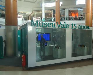 Exposição 15 Anos Museu Vale no Shopping Vitória