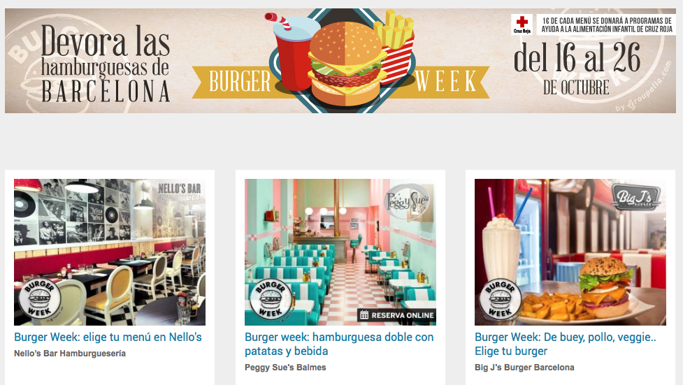 Burger week groupalia