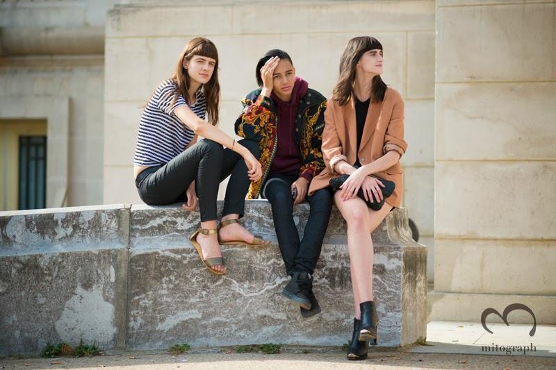 mitograph Kayley Chabot Binx Walton Daiane Conterato Before Acne Studios Paris Fashion Week 2014 Spring Summer PFW Street Style Shimpei Mito
