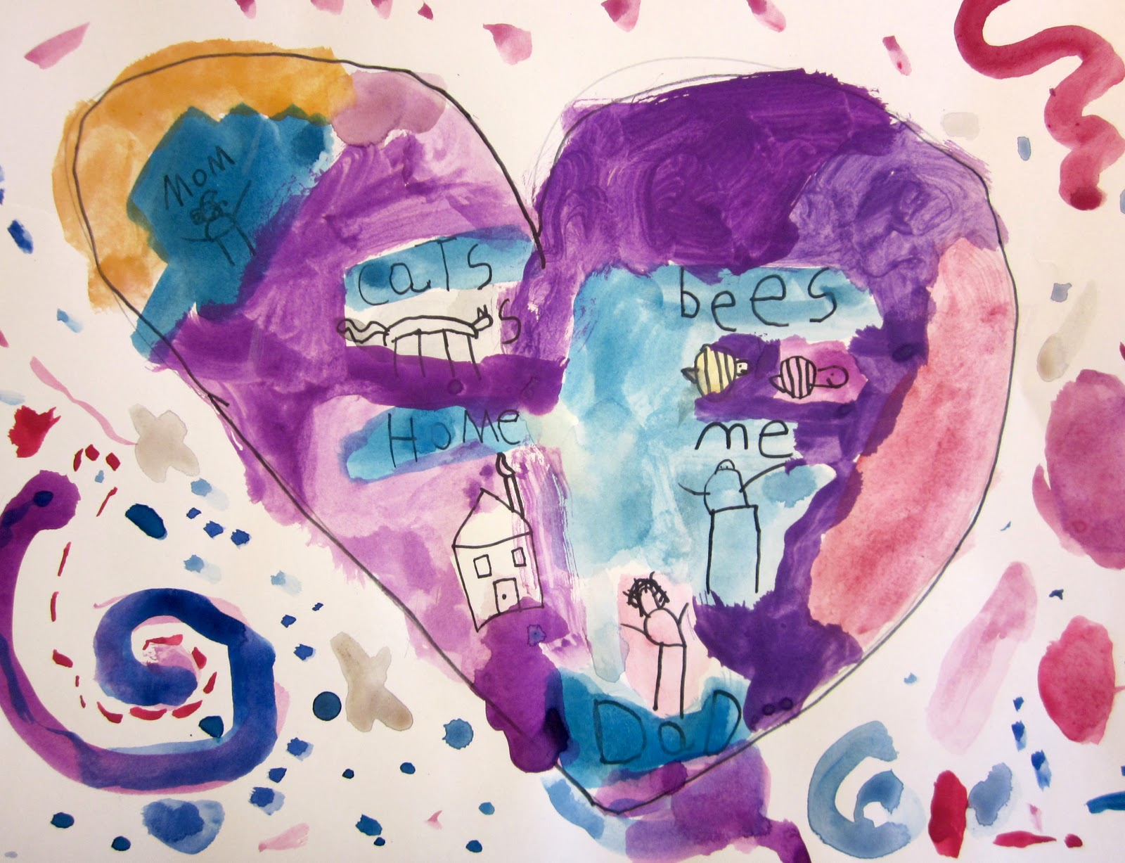 Art is Basic Art Teacher Blog Map of My Heart Kindergarten