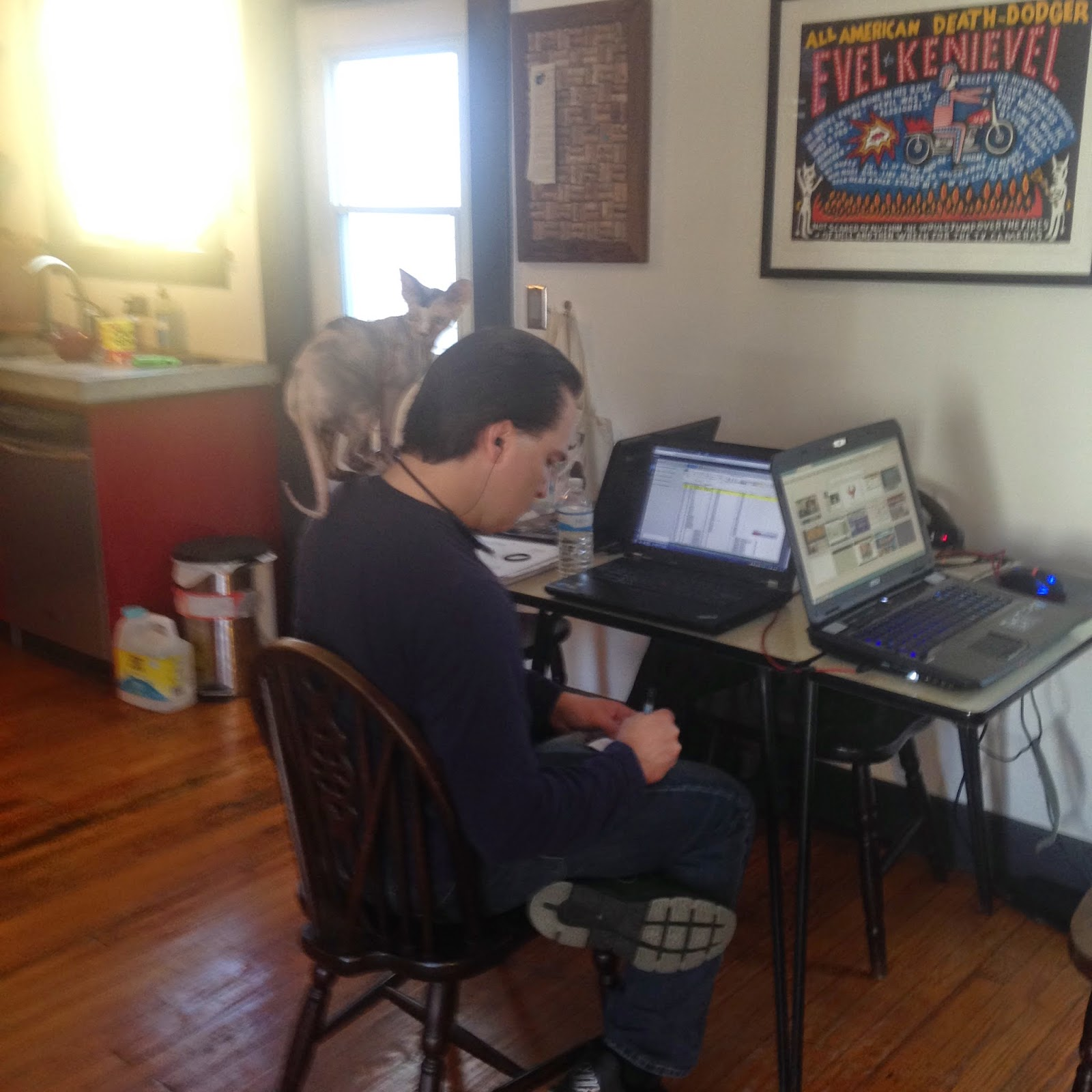 tiny office design. My Tiny Home Office Redux: The World Is Design