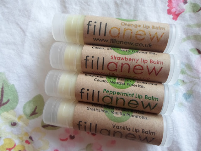 fillanew lip balms