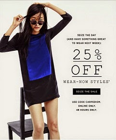 Madewell Simplified  - 'Seize the Day' Event -Stop By & Take a Peek @ My Personal Picks...