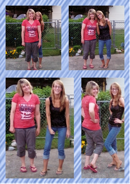 Amy & Debi collage
