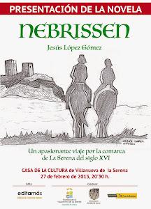 Nebrissen. Mi primera novela.