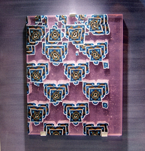 Harbourfront Centre Winter/Spring 2016 Visual Art Exhibition: Deliberately Ambiguous in Toronto, Ontario, Canada, Artmatters, Culture, Contemporary Abstract, Craft, Design, The Purple Scarf, MelaniePs, Untilted, moorish pattern no. 8, Owen Johnson